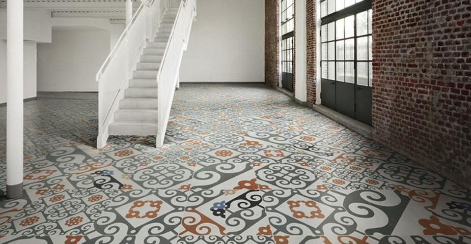 Antique Tile Floors Style
