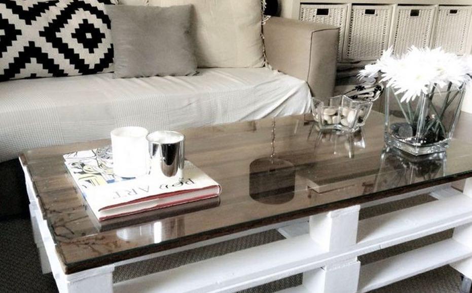 C mo hacer muebles con palets diy muebles de palets for Mesa de palets paso a paso