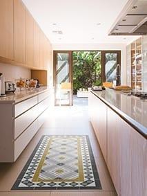 alfombra cocina