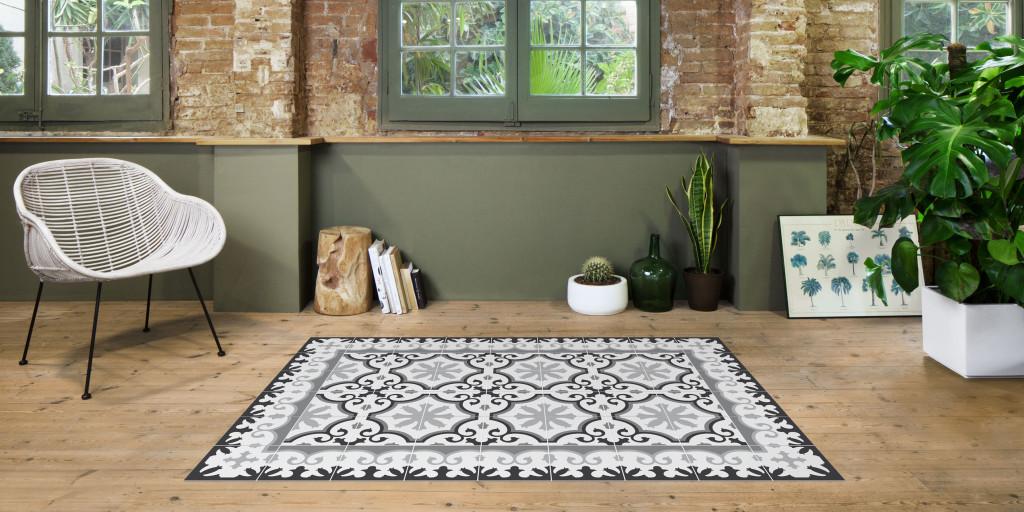 antique tile carpets