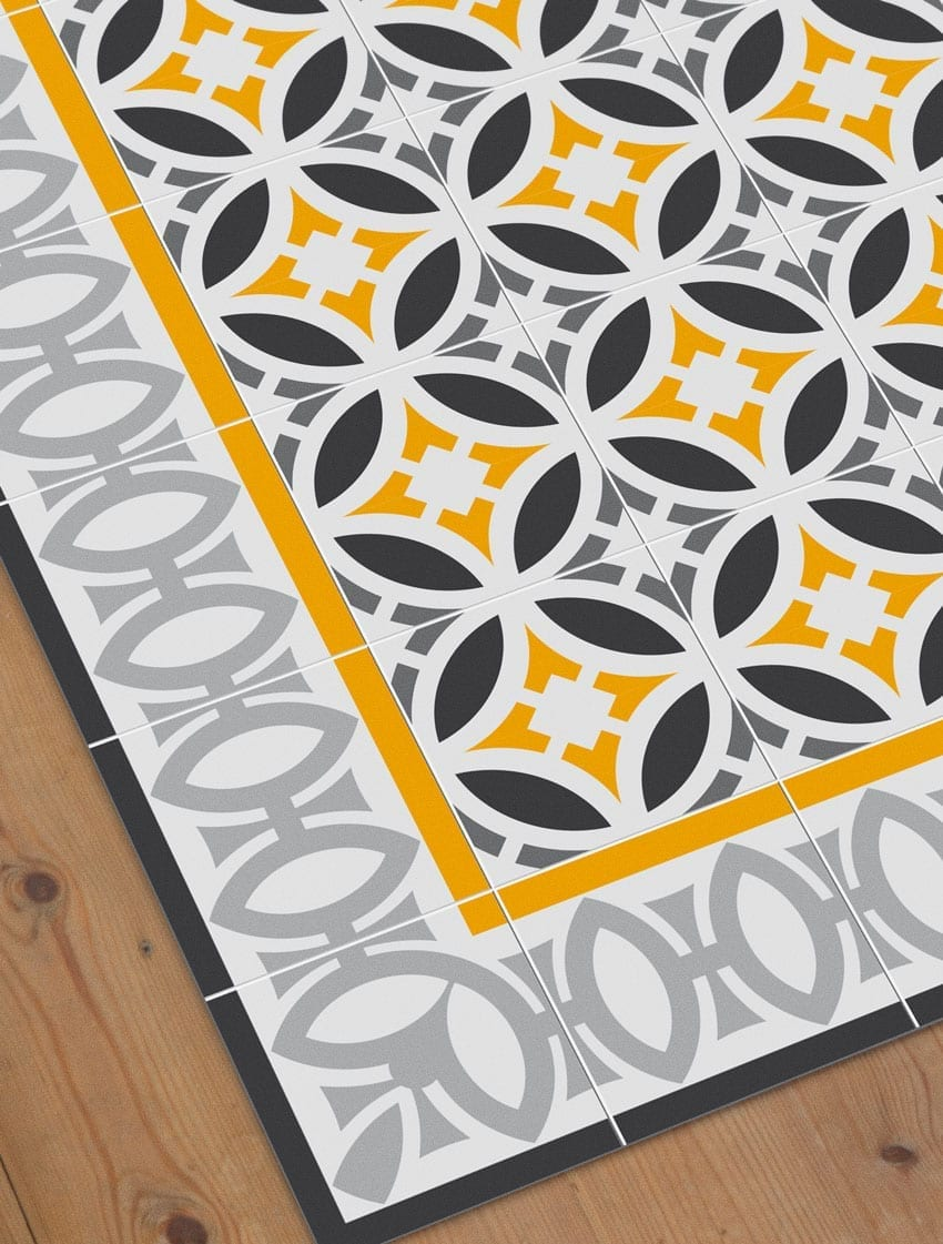 Mosaico modernista beautiful mosaico y baldosa modernista - Baldosa hidraulica barcelona ...