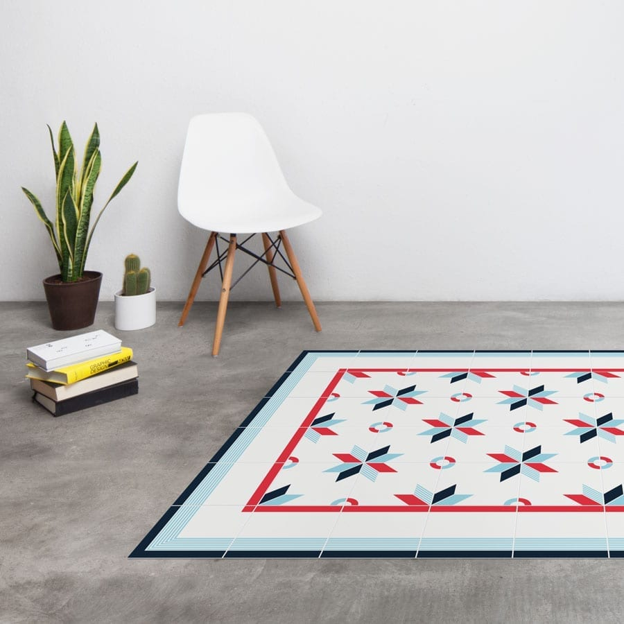 Antique tile carpets: Modern Collection