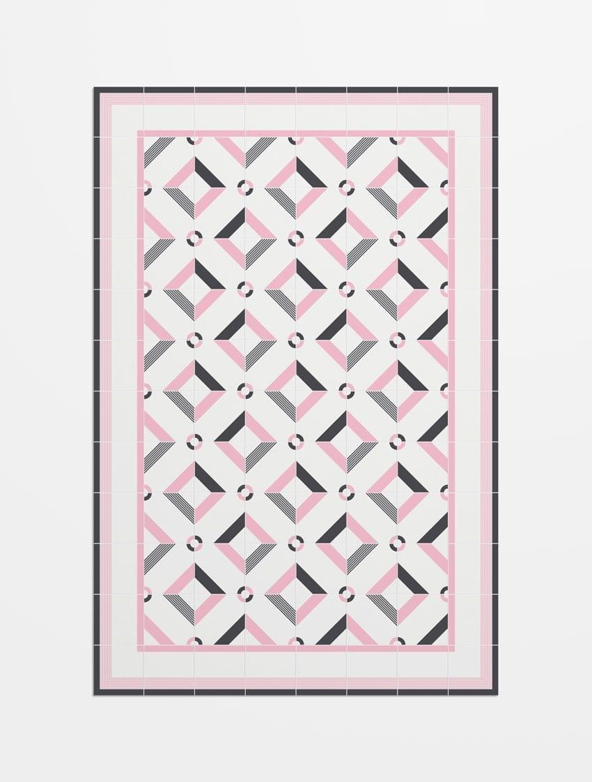alfombra imitacion mosaico hidraulico