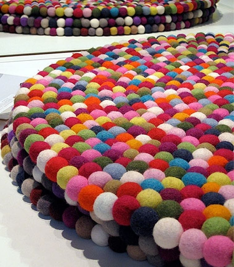 Ball carpets