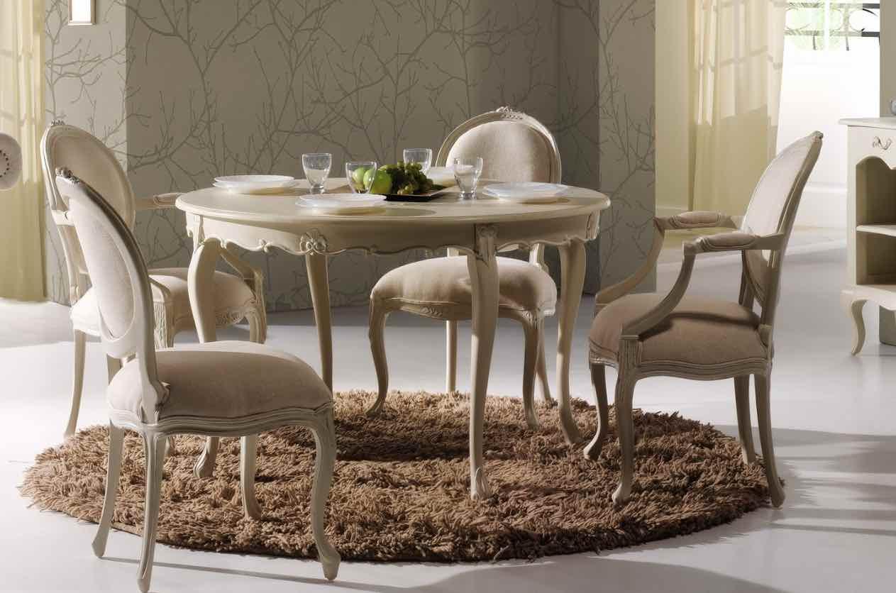 alfombras redondas comedor
