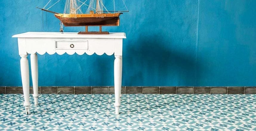 traditional antique tiles floors
