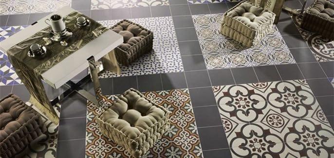 mosaic hidraulic patchwork