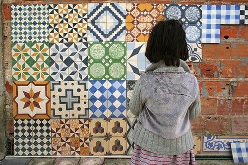 Mosaico de gres hidràulico