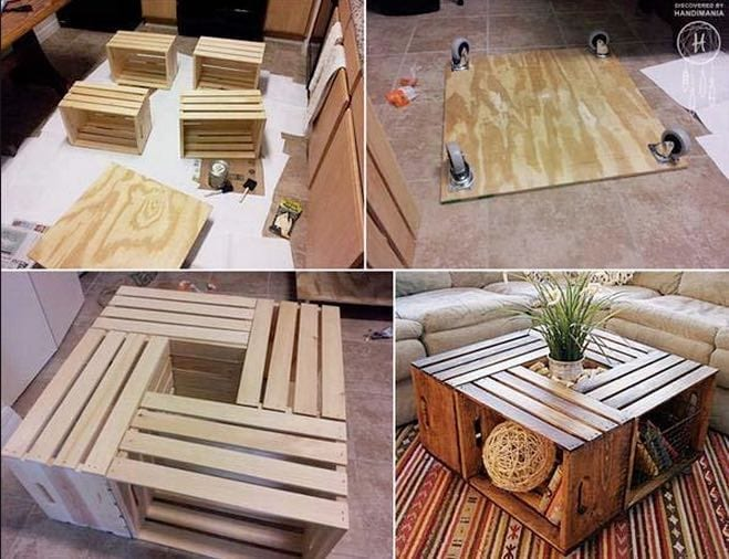 make your table for your living room