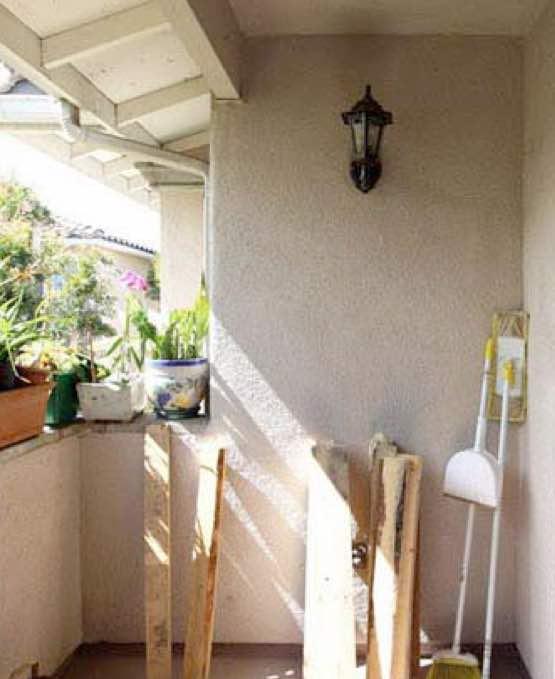 decoracion de terrazas, el antes