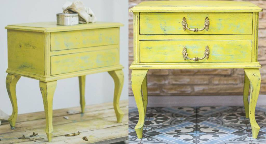 Restore antique furniture. how can you do it easily?