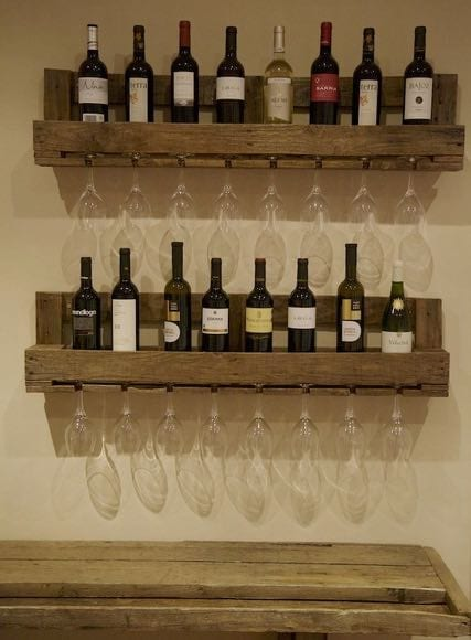 make to Bottle rack diy