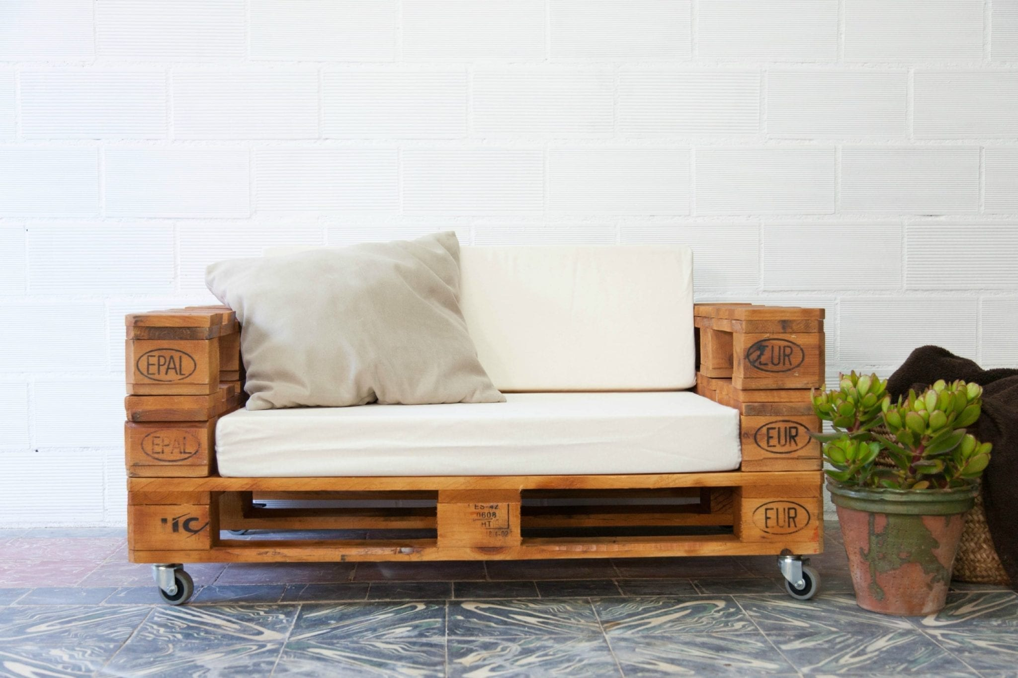 Como Hacer Muebles Con Palets Diy Muebles De Palets - Como-hacer-muebles-de-palets-paso-a-paso
