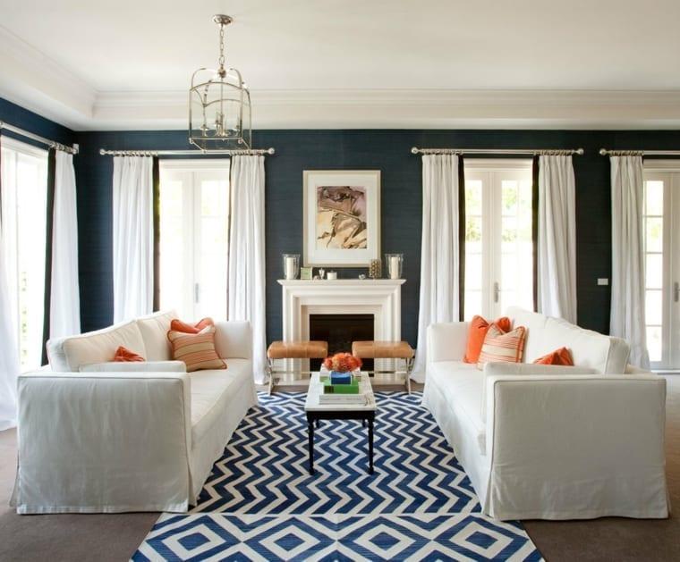 decoración-con-alfombras-antiguas