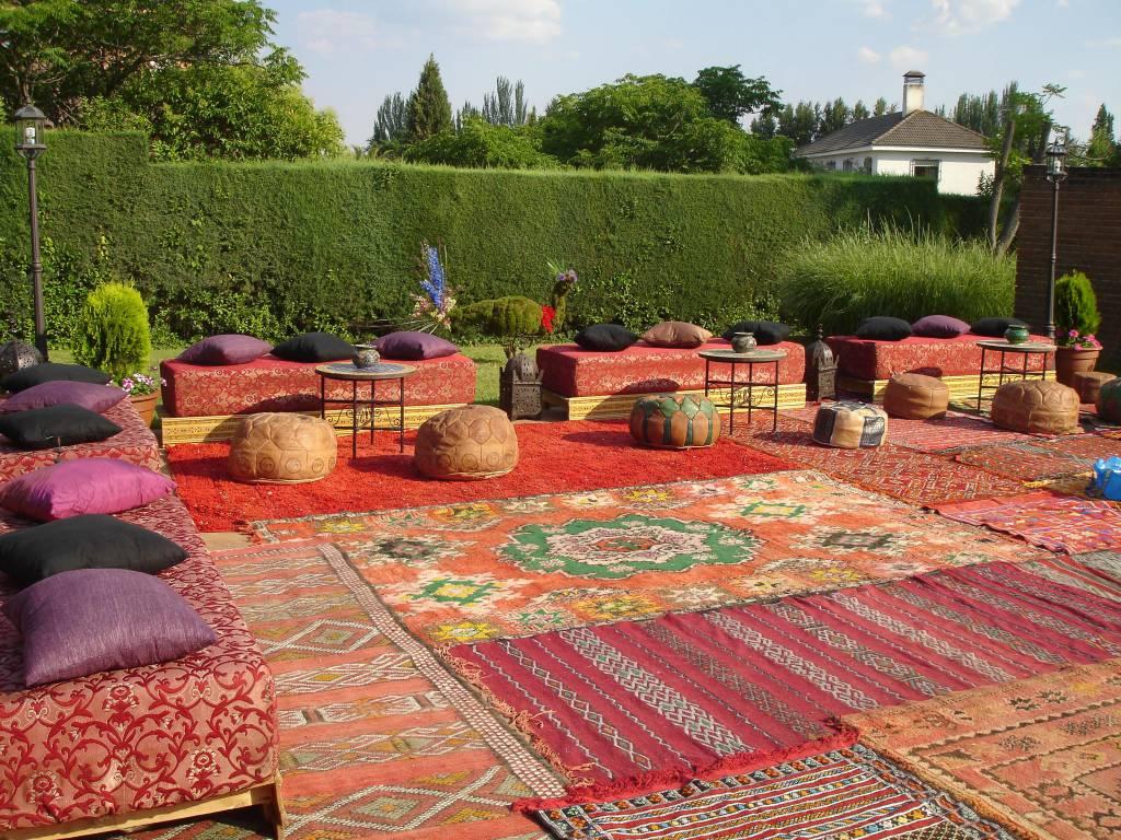 decorar-con-alfombras-antiguas