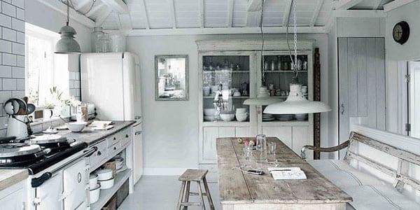 cocina-lampara-vintage