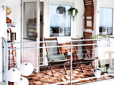 Cómo convertir un pequeño balcón en un gran espacio