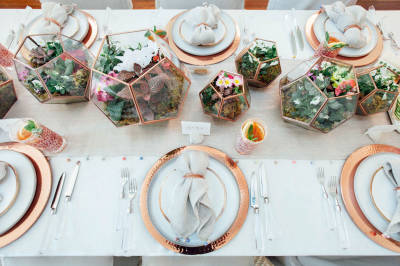 Basic tips to decorate your table