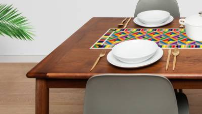 Dress up your table with the hydraulic tiles of Modernism!