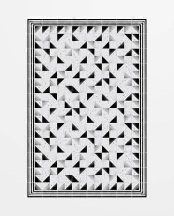 alfombra vinilo modern Tallers Hidraulik