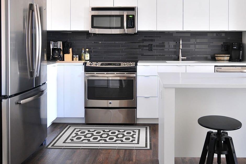 alfombras lavables para cocina