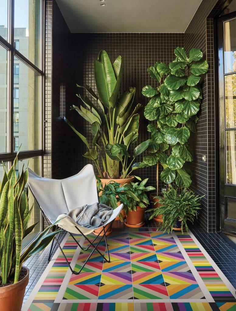 alfombra de vinilo salon hidraulik Tamarit