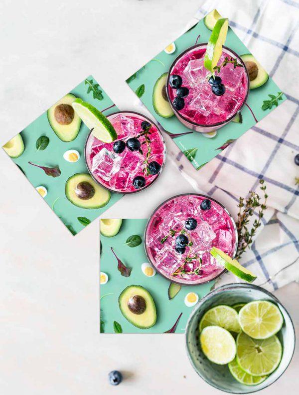 posavasos vinilico hidraulik avocado eatingpatterns